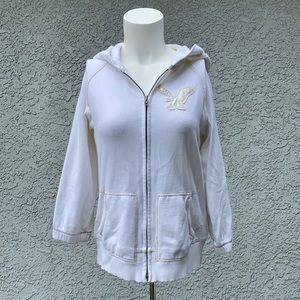 AEO American Eagle 🦅 Vintage Y2K White Jacket